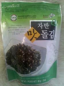 Surasang/Wang Globalnet Brand Seasoned Seaweed (Laver), 85 g.  (3 oz.)