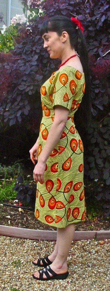 Vintage 1958 Advance 8617 – tropical dress