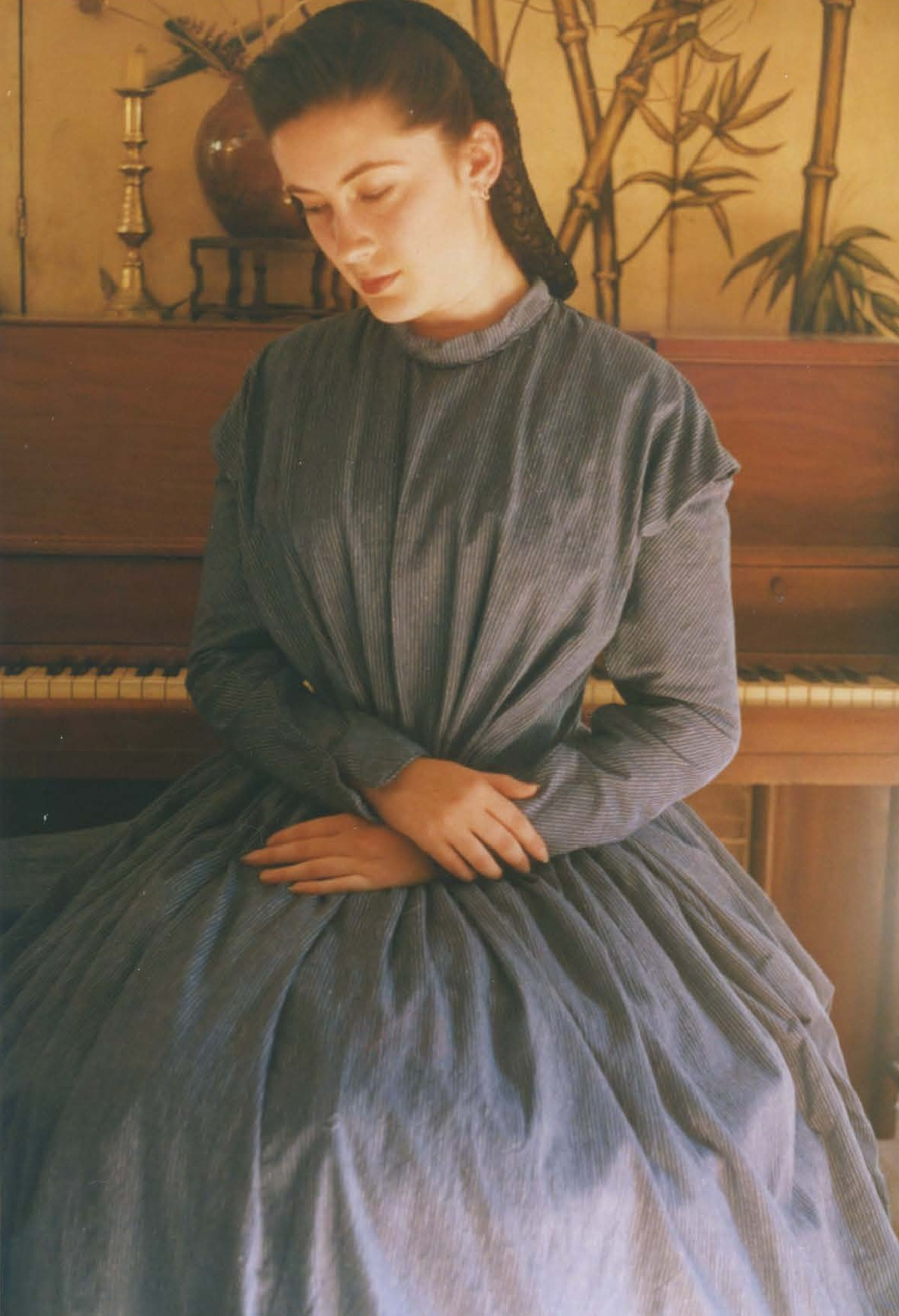 Two Victorian dresses – Past Patterns #702 and #801