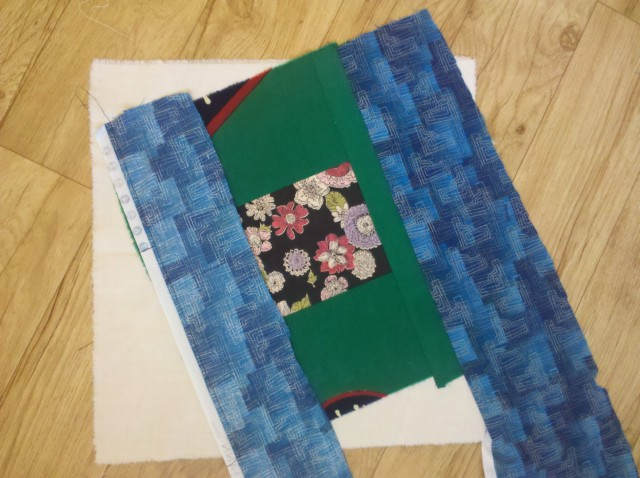crazy log cabin quilt tutorial 16