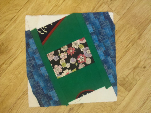 crazy log cabin quilt tutorial 19