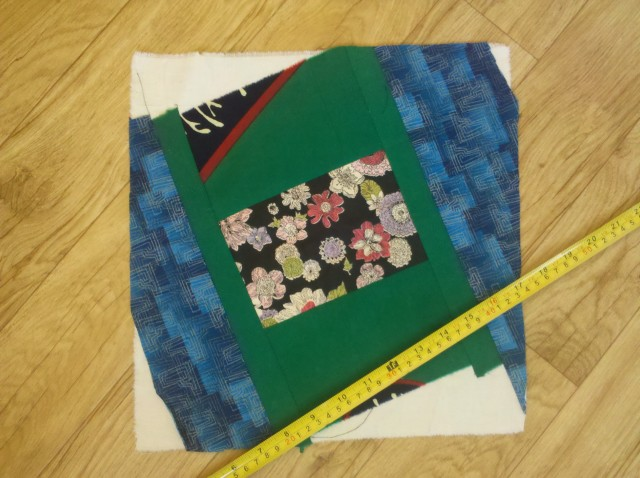 crazy log cabin quilt tutorial 20
