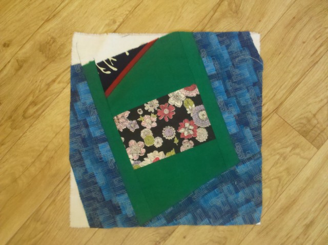 crazy log cabin quilt tutorial 24