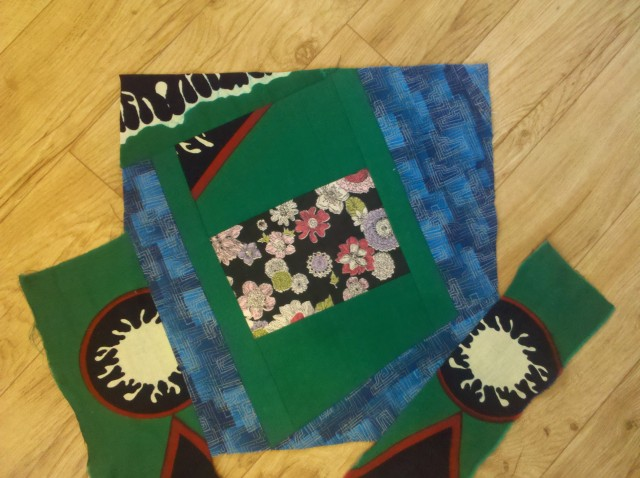 crazy log cabin quilt tutorial 35