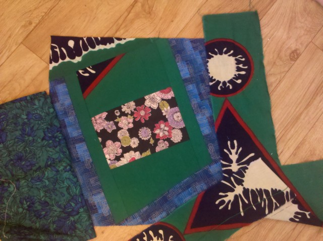 crazy log cabin quilt tutorial 33