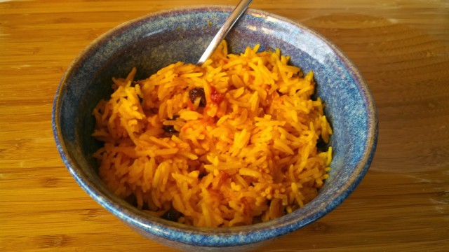 Spanish rice is cheap, fast and easy to make. Rice cooker.