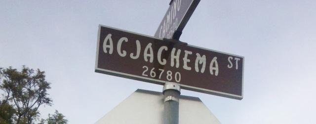 Acjachema St., San Juan Capistrano, CA.
