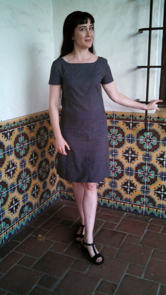 Front, vintage McCall's 2481, made by Kelina Lobo.